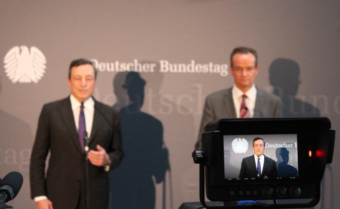 Mario Draghi: Viel Macht. WenigLegitimation.