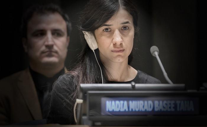 Nadia Murad: Das personifizierte Plädoyer für mehr Differenzierung.